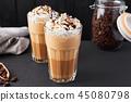 coffee, cream, latte 45080798