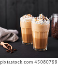 coffee, cream, latte 45080799