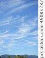 sky, autumnal, altostratus clouds 45085287