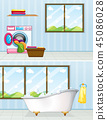 Laundry room and bathroom 45086028