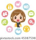 智能手機應用程序 45087598