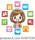 智能手機應用程序 45087599