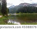 Lago Misurina in the Italian Dolomites 45088076