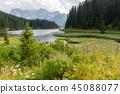 Lago Misurina in the Italian Dolomites 45088077