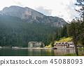 Lago Misurina in the Italian Dolomites 45088093