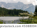 Lago Misurina in the Italian Dolomites 45088094
