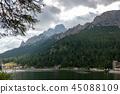 Lago Misurina in the Italian Dolomites 45088109