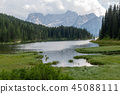 Lago Misurina in the Italian Dolomites 45088111