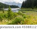 Lago Misurina in the Italian Dolomites 45088112