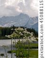 Lago Misurina in the Italian Dolomites 45088115