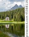 Lago Misurina in the Italian Dolomites 45088116