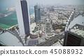Beautiful top view of Abu Dhabi 45088932