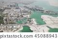Beautiful top view of Abu Dhabi 45088943