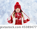 snow, winter, child 45089477