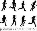 running, run, child 45090153