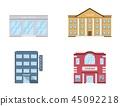 building, exterior, icon 45092218
