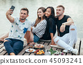 selfie friends group 45093241
