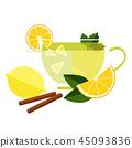 Cup of Tea with Lemon 45093836