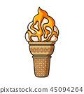dessert food cone 45094264