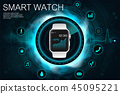 Concept of smart watches 45095221