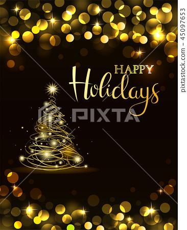Holiday party invitation 45097653