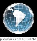 地球,世界,南美洲 45098761