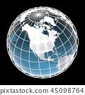 地球,世界,北美 45098764