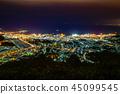 Otaru Tenguzan night view 2 Otaru night view Sapporo night view Nightview Otaru Hokkaido Hokkaido 45099545
