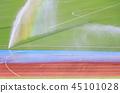 地面灑水器和彩虹 45101028