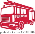 car vehicle firefighting 45103706