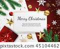 christmas, frame, decoration 45104462