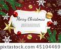 background, vector, christmas 45104469