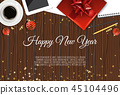 christmas vector background 45104496