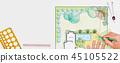 Landscape architect design backyard plan for villa 45105522