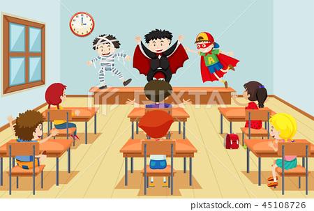Children in drama class 45108726