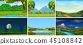 background nature vector 45108842
