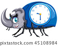 A beetle clock template 45108984