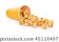 popcorn isolated on white background 45110407