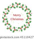 홀리의 크리스마스리스 일러스트 45110427