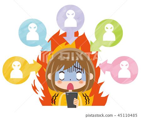 火焰女人 45110485