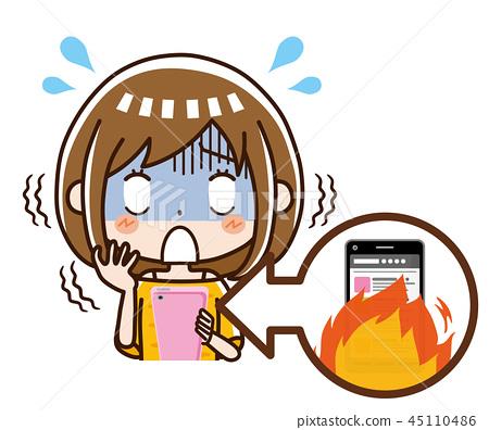 火焰女人 45110486