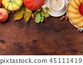 autumn, pumpkin, apple 45111419