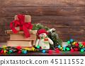 Christmas greeting card 45111552