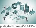 analytics, business, graph 45114952