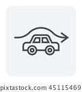accident collision icon 45115469