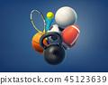 sport 3d sports 45123639