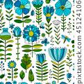 pattern, background, flower 45124106