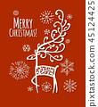 เวกเตอร์,คริสต์มาส,คริสมาส 45124425