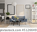 interior 3d table 45126649