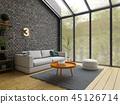 room, interior, 3d 45126714